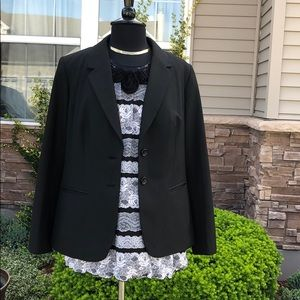 Eloquii By Limited Lined Blazer Business Seperates